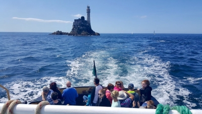 Fastnet Tours Ferry Visiting Lighthouse